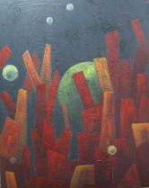 """""""Glühen"""", 80x100"""