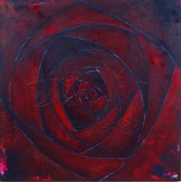 """""""La vie en rose"""", 80x80"""