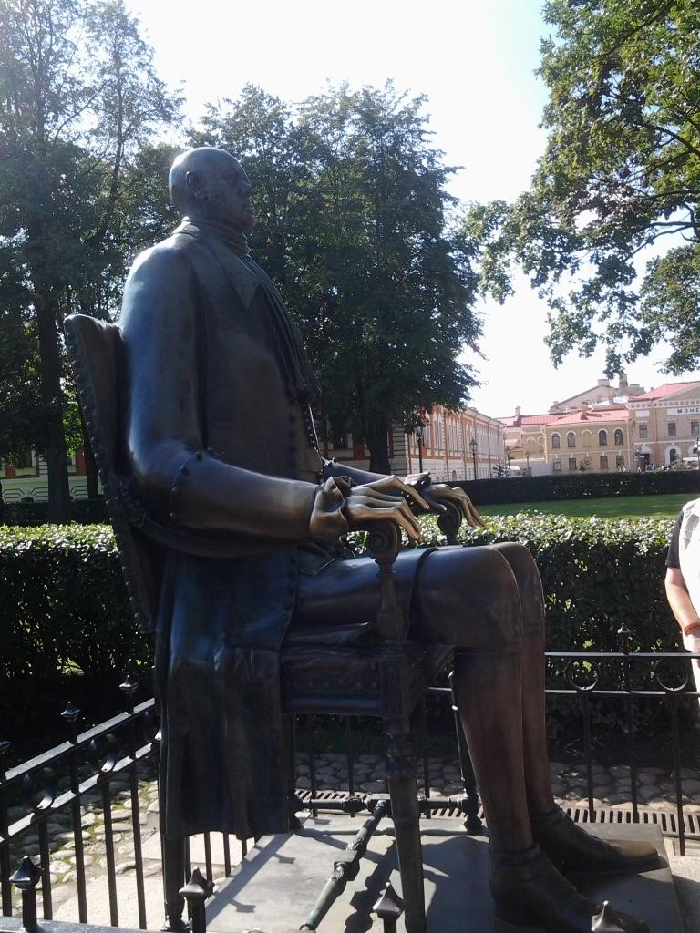"""Statue """"Peter der Grosse"""" von Mikhail Shemyakin"""